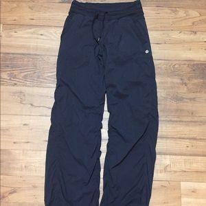 Lululemon Studio Dance Pants Lined Black